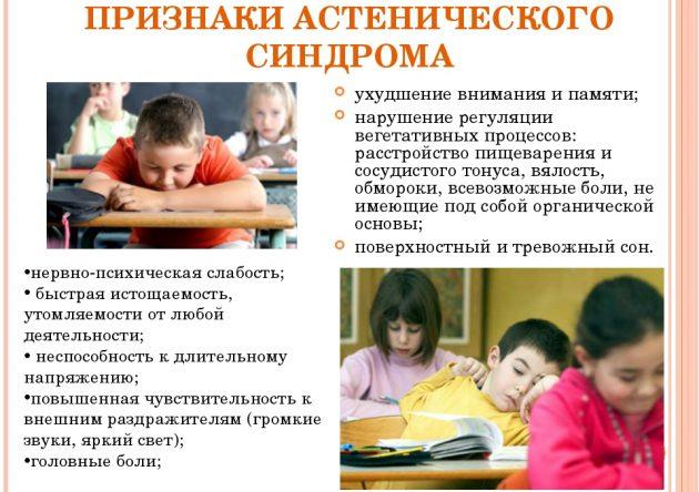 Астенический синдром у детей