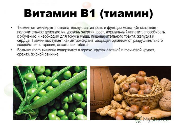 B1 или тиамин