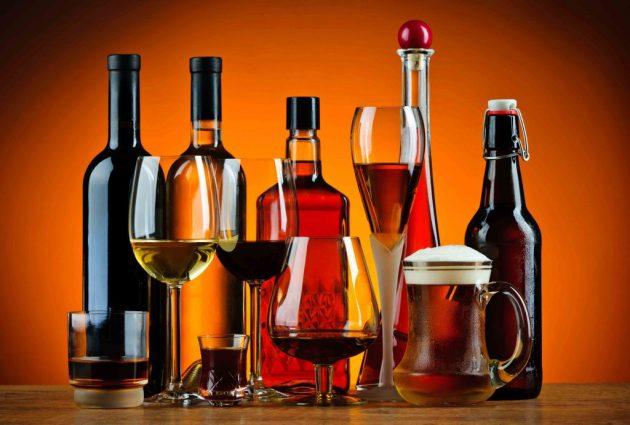 Калорийность других спиртных напитков