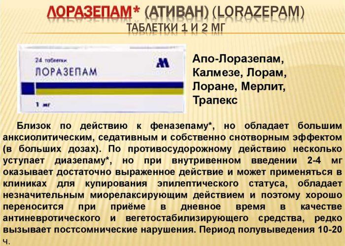 Лоразепам
