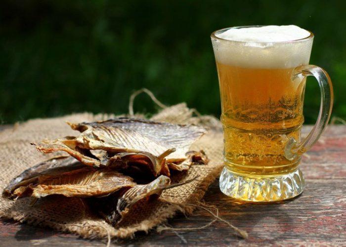 Пиво с таранькой