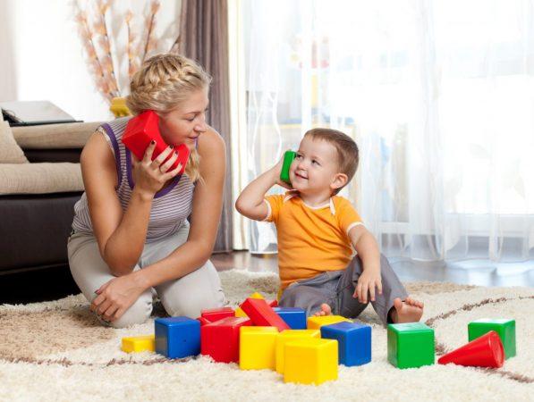 Создать спокойную обстановку для ребенка