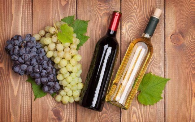 Вино из винограда выветривается быстрее, чем купленный алкоголь в магазинах