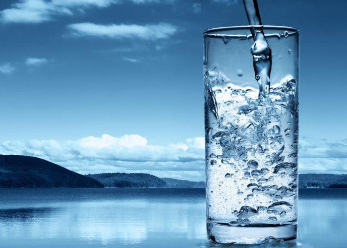Чистая вода без примесей металлов