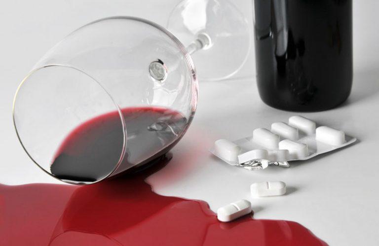 Грандаксин и алкоголь