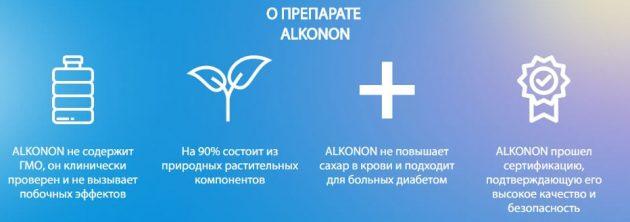 Описание препарата Alkonon