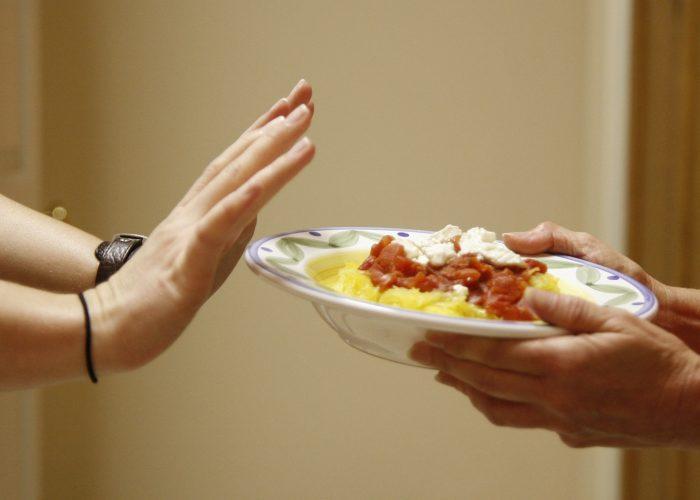 Отсутствия желания употреблять пищу