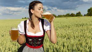 Польза пива для женщины