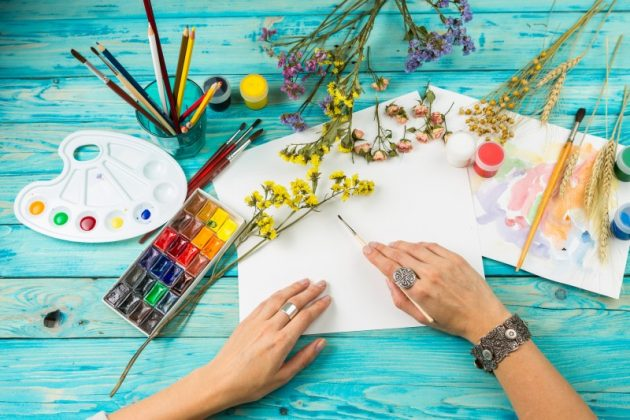 Творчество поможет бороться со стрессом