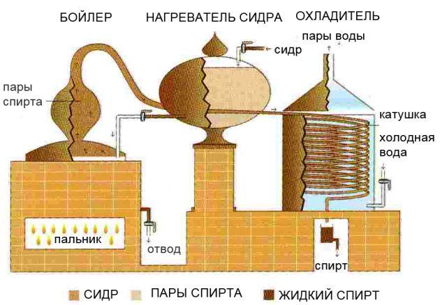 Изготовление кальвадоса