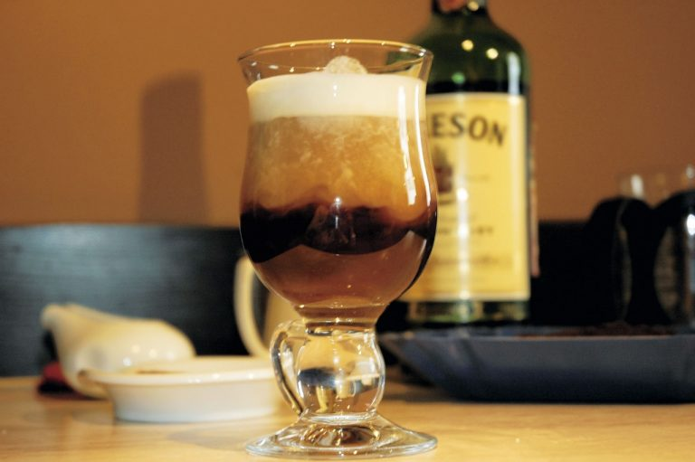 Кофе с водкой