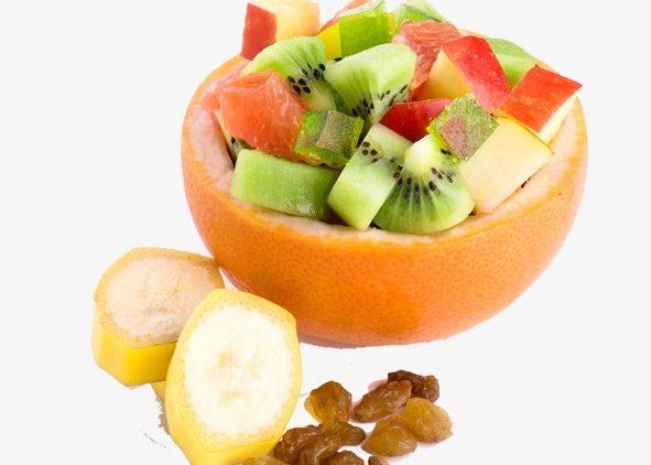 Кусочки фруктов