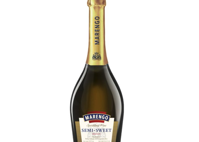Полусухое шампанское