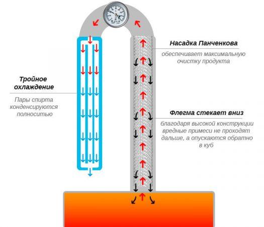 Принцип работы сетки Панченкова
