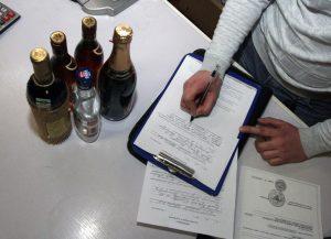 Проверка наличия лицензии на алкоголь