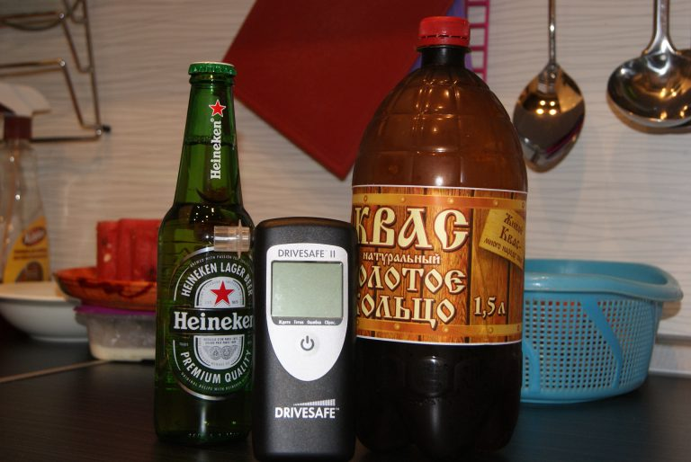 квас и алкоголь