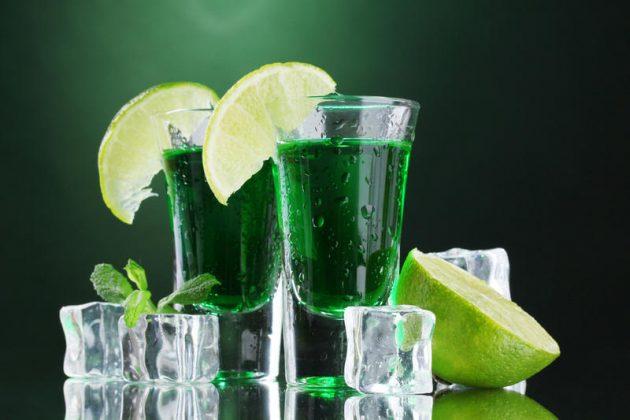 с чем пить абсент