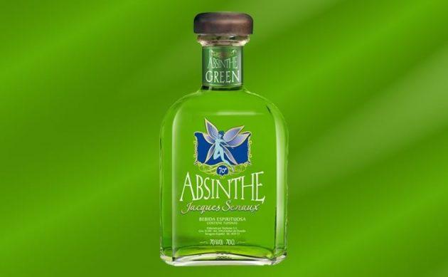 зеленый абсент